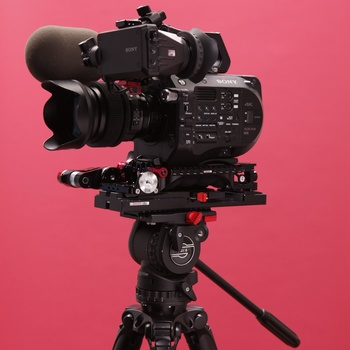 Rent  Sony FS7mk2 Cinema Camera package w/ 2 lenses & 2x Sony lavs