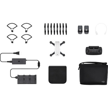 Rent DJI Spark, Fly More Combo, Alpine White - KIT