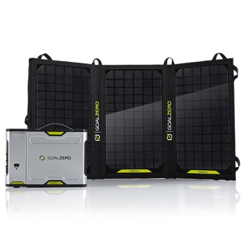 Rent Goal Zero Sherpa 100 Power Bank + Nomad 20 Solar Panel Kit