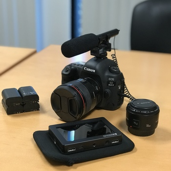 Rent 5D Mark IV KIT with C-Log profile built in.