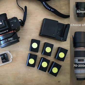 Rent Sony a7S II + Metabones + 1 lens PACKAGE
