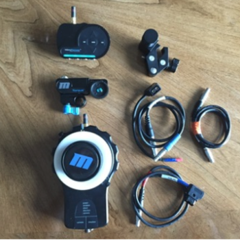Rent RedRock Micro Remote Wireless Follow Focus - With single operator Focus Wheel and Extras!!!