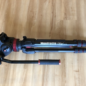 Rent Manfrotto 190go Tripod with 502HD Pro Video Head
