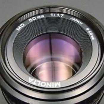 Rent Minolta 50mm 1:1.7 Lens