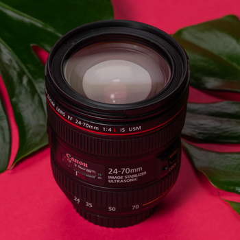 Rent Canon EF 24-70mm f/4L (with Image Stabilization)