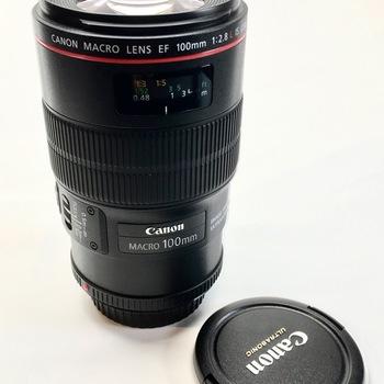 Rent Canon EF 100mm f/2.8L Macro IS USM Lens