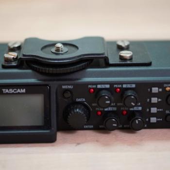 Rent Tascam DR-70D Audio Recorder