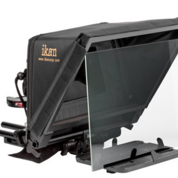 Rent Ikan Elite V2 Universal Tablet Teleprompter w/ Remote & iPad
