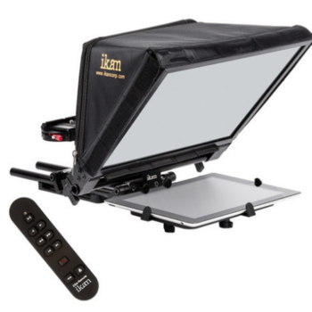 Rent Ikan Elite V2 Universal Tablet Teleprompter w/ Remote & iPad