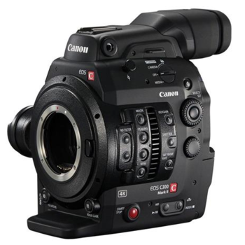 Rent Canon C300 Mark II (EF Mount), BPA60 Battery, 128GB CFast