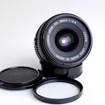 Rent Canon FD prime lens set + Metabones speedbooster MFT