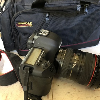 Rent Perfect condition Mark III. Shoots great video (and of course stills), even at low light!