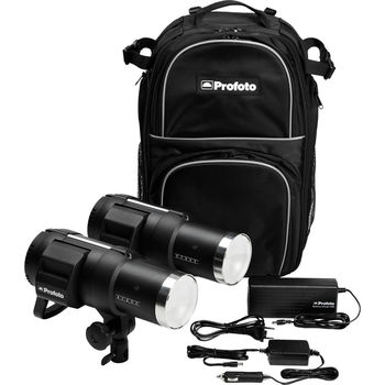 Rent Profoto B1 500W Air Battery-Powered 2-Light Location Kit (+Modifier, Stand & Radio Transmitter)