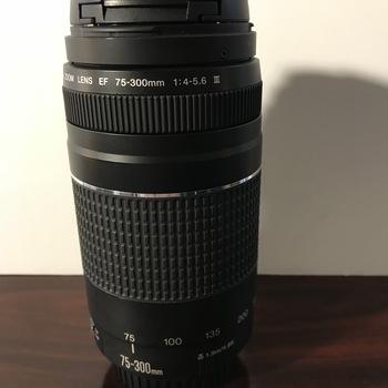 Rent Canon 75-300 f4-5.6 EF Lens