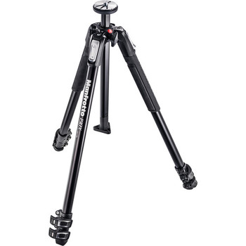 Rent Manfrotto MT190X3 3-Section Tripod with 502HD Pro Video Head Kit