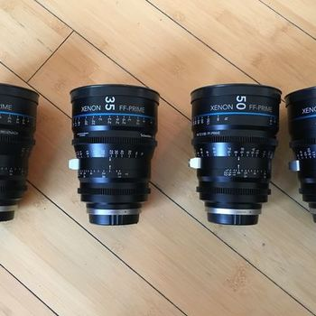 Rent Schneider Xenon FF Lens Set (EF and PL)
