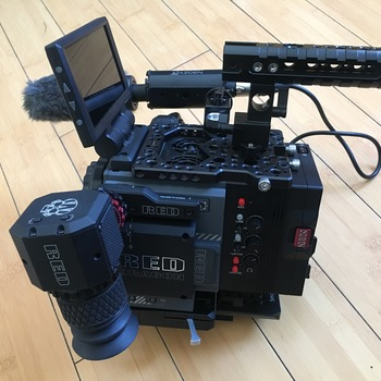 Rent RED Scarlet Dragon 5K with OMOD XLR2 and EVF (OLED)