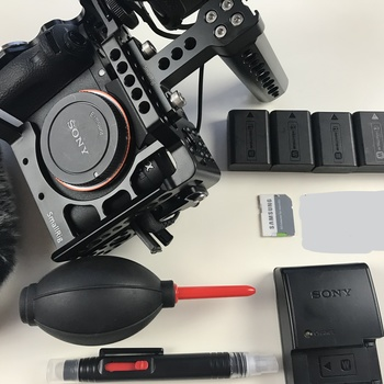 Rent Sony A7S II • SmallRig Cage • 5x Batteries