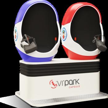 Rent VRPark Capsule Virtual Reality Motion Simulator - BASIC
