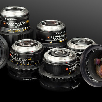 Rent Leica-R CineMod Prime Set