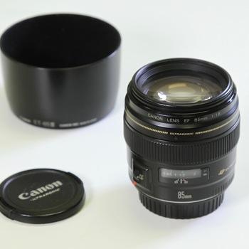 Rent Canon (EF) 85mm f/1.8 USM Lens
