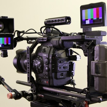 Rent C300 2 Camera ultimate shooter package (EF) w/ wireless monitor