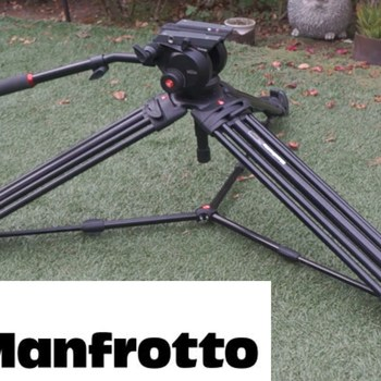 Rent Manfrotto 504HD and 546BK Video Head Tripod