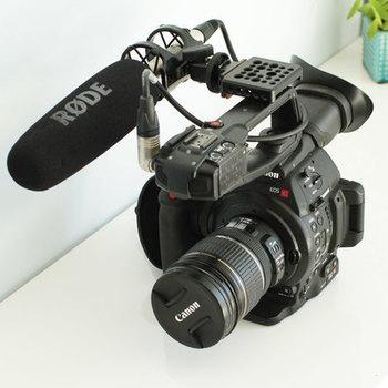 Rent Canon C100 + RODE NTG-3 Kit