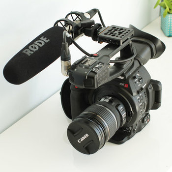 Rent Canon C100 Kit (includes 2 Sennheiser wireless lav kits)  FAVORITE