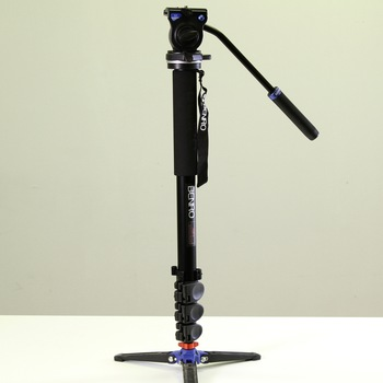 Rent Benro A38FDS2 Series 3 Aluminum Monopod with 3-Leg Locking Base and S2 Video Head