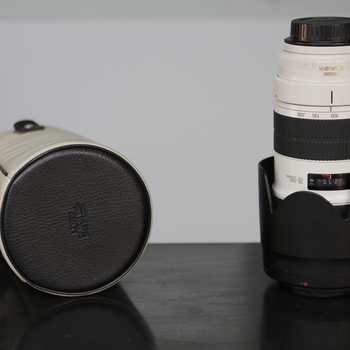 Rent Canon 70-200mm f2.8 L II with Follow Focus Gear Ring