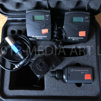 Rent Sennheiser ew 100 ENG G3 Wireless Microphone Combo System with Plug-On Transmitter - G (566-608 MHz)