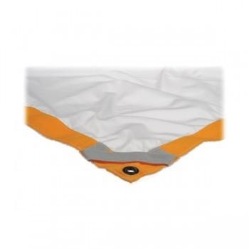 Rent Matthews Butterfly/Overhead Fabric - 6x6' - White Artificial Silk