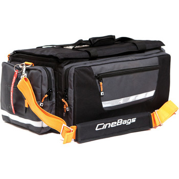 Rent CineBags CB-01A Production Bag (Black and Gray with Orange Webbing)