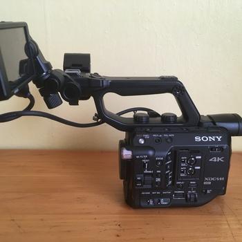 Rent Sony FS5 Raw Upgraded + 2 Batteries