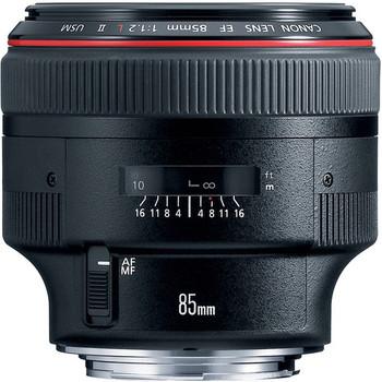 Rent Canon 85mm f/1.2L II USM Lens