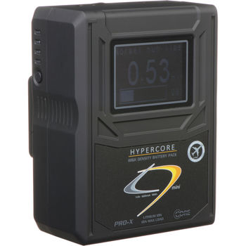 Rent 4x HyperCore HC9 Mini Gold Mount Battery