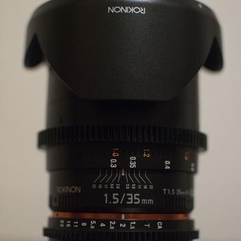 Rent Rokinon 35mm T1.5 Cine Lens