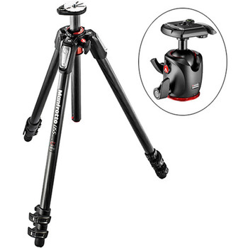 Rent Manfrotto 055CXPRO3 Carbon Fiber photo tripod w/Manfrotto Magnesium Ball Head
