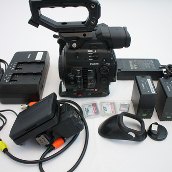 Rent Canon C300 MKII Camera