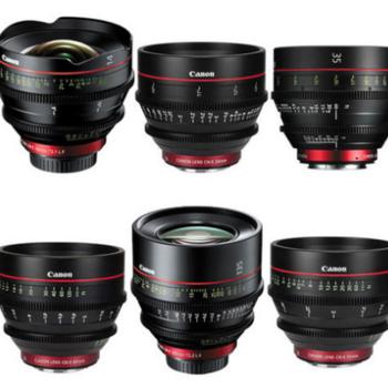Rent Canon CN-E Prime Lens Set of 6