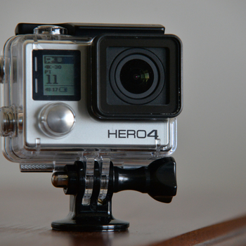 Rent GoPro Hero 4 Black Edition with Accessories and Case