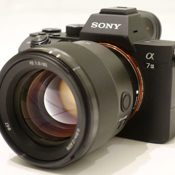 Rent Sony A7 III (Lenses available as well)