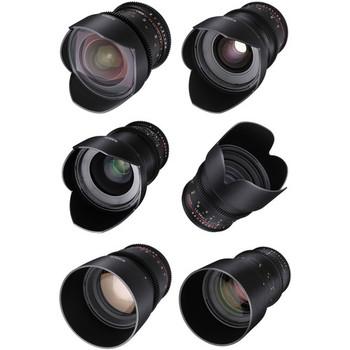 Rent ***BRAND NEW*** Rokinon DS Cine Full 6 Lens Kit