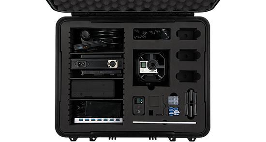 Omni camera rig case