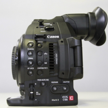 Rent Canon C-100 Mark II Body only
