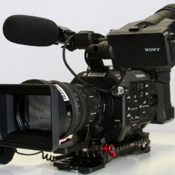 Rent Sony FS7 with rear attachment and lens