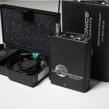 Rent Lectrosonics 411 Receiver/Transmitter with Tram mic kit