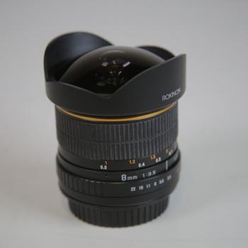 Rent 8mm fish eye lens manual controls EF mount