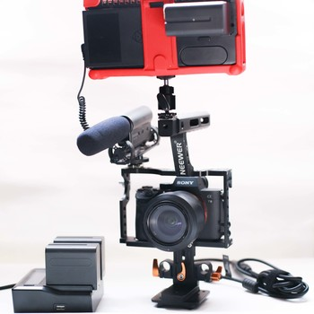 Rent Sony a7iii / Atomos Ninja Assassin 4k Camera kit w/ tripod